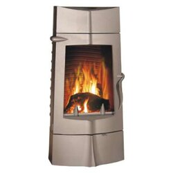 krbové kachle Invicta 14 kw Chamane antracyt ref. 6156-44